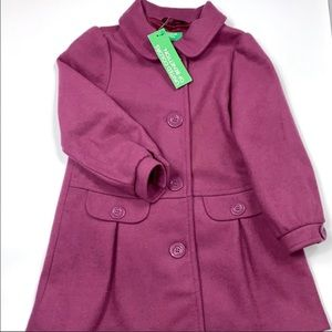United Color of Benetton Wool Coat